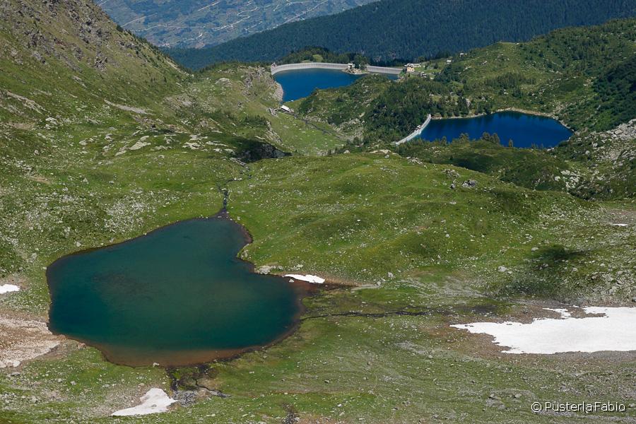 I tre laghi