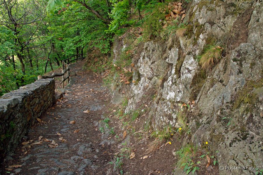L'ingresso nella valle