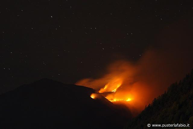 Incendio dell'autunno 2007