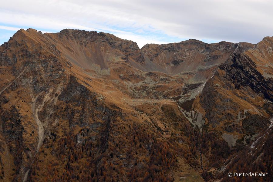 Panorama dall'alpe Mortirolo