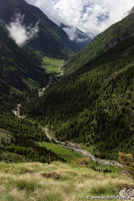 Panorama da nord