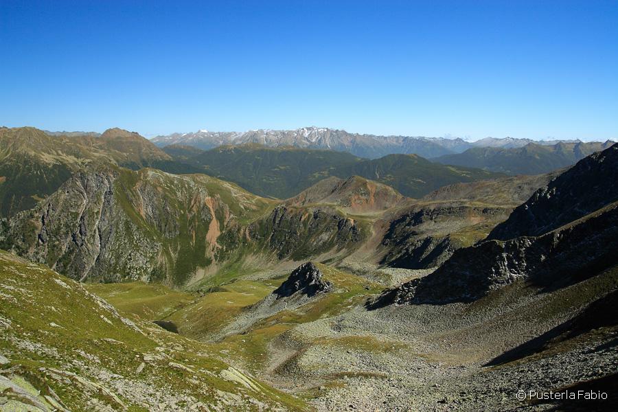 Panorama dal passo dell'Arasè